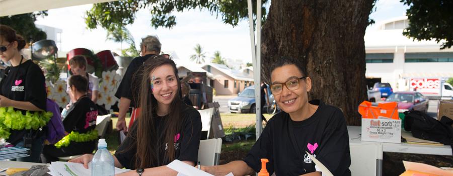 Volunteer at Cairns Festival