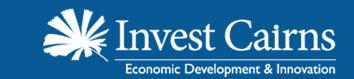 Invest Cairns logo
