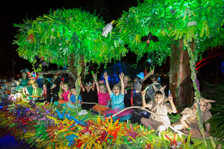 Cairns Festival Parade Workshop