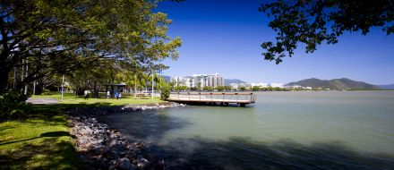 Cairns Esplanade Eastern Highwater Pier