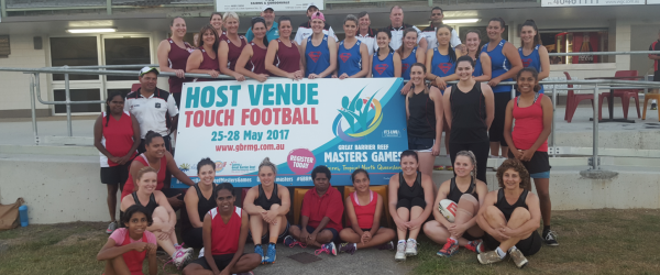 Great Barrier Reef Masters Games host venue for Touch Football