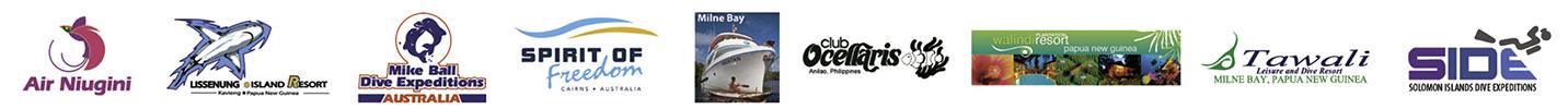 Scuba Club logos