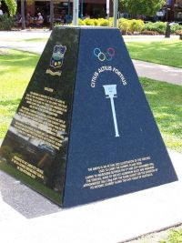 56 Olympic Torch Monument