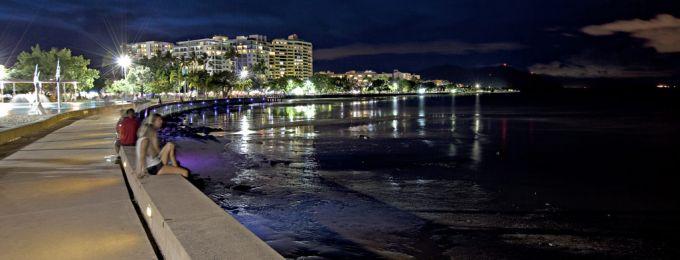 Esplanade by night