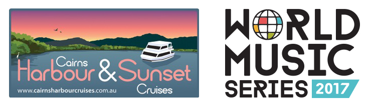 World Music Sunset Cruises logos