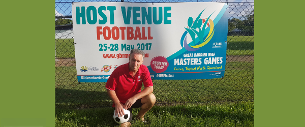 Great Barrier Reef Masters Games host venue for Football aka Soccer