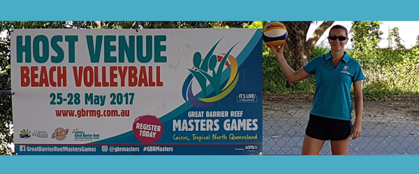 Great Barrier Reef Masters Games host venue for beach volleyball