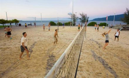 Active Living Beach Volleyball