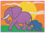 Animal Sand Art