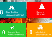 Sign up for disaster alerts and stay safe