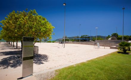 Cairns Esplanade Beach Volleyball Courts