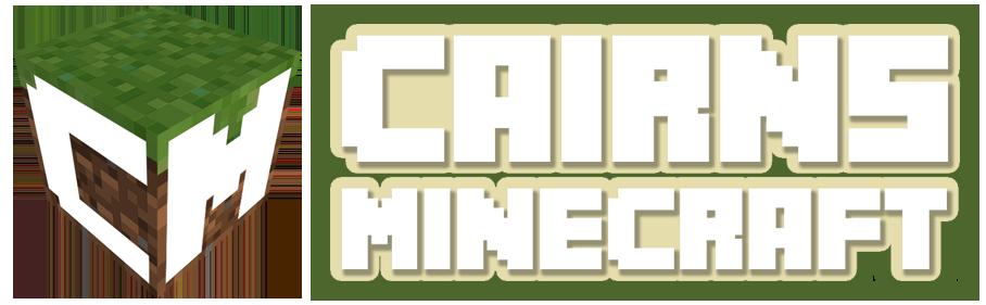 Cairns Minecraft logo