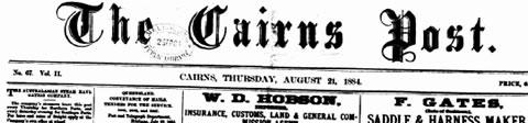A Cairns Post Headline