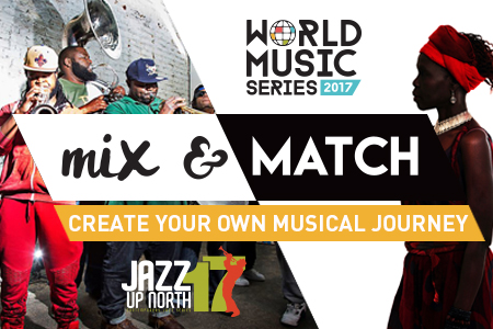 World Jazz Series 2017 Event