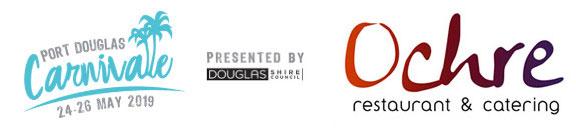 Port Douglas Carnivale & Ochre Logo