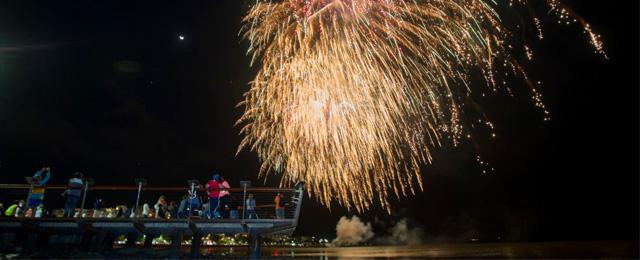 Grand Parade 2017 Fireworks