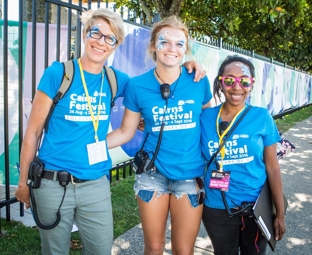 Volunteers Grand Parade