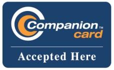 Companion Card accepted